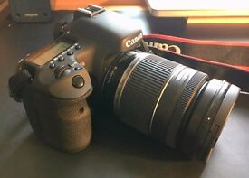 Canon 7D Body + Canon EFS 18-200mm Lens (Used - Good Condition)