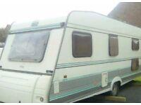 5 berth touring caravan TEC KING