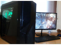 Powerful Gaming PC i7 GeForce GTX 970 16GB RAM 4TB HDD + 256GB SSD W10 perfect working condition!