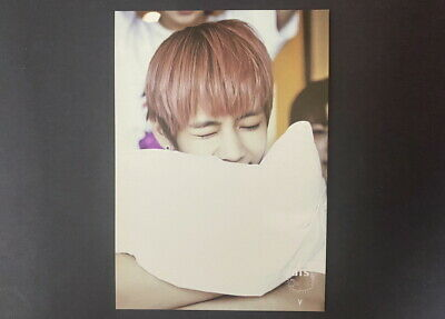 BTS-2014 1st Fan Meeting official TAEHYUNG PHOTO CARD