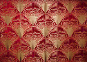 Fibre naturelle new york chenille art d co tissu d - Tissu ameublement art deco ...