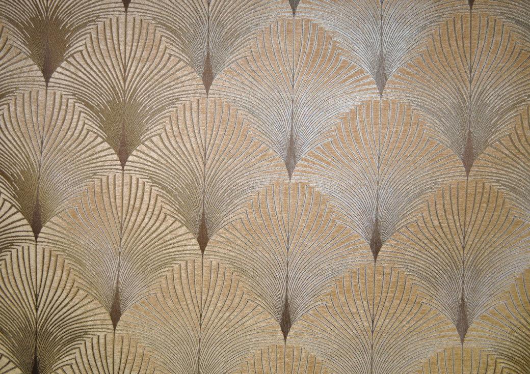 Fibre naturelle new york chenille art deco furnishing for Art deco fabric