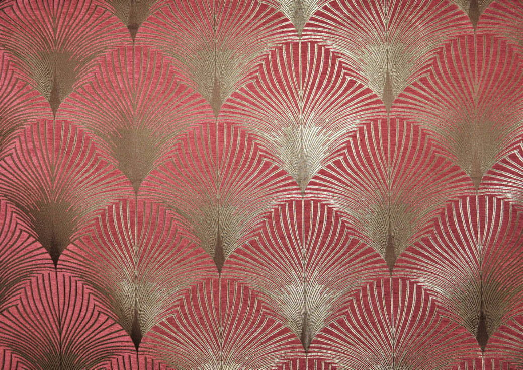 Fibre naturelle new york art deco curtain upholstery for Art deco fabric