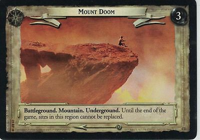 LOTR CCG The Hunters Foil 15RF18 Mount Doom