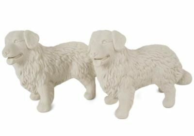 Bernese Mountain Dog Gift, Unpainted Cruet Set Handmade by Blue Witch
