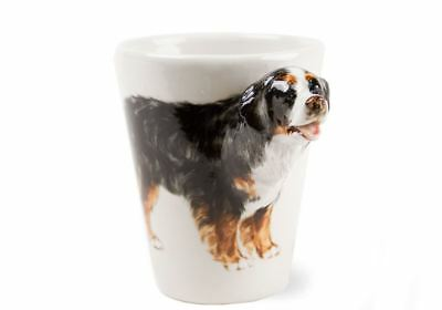 Bernese Mountain Dog Gift, Coffee Mug Handmade by Blue Witch