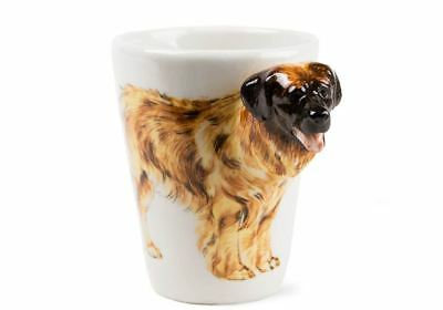 Leonberger Gift, Coffee Mug Handmade by Blue Witch