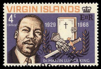 VIRGIN ISLANDS 192 (SG226) - Martin Luther King Jr. Memorial (pf48247)
