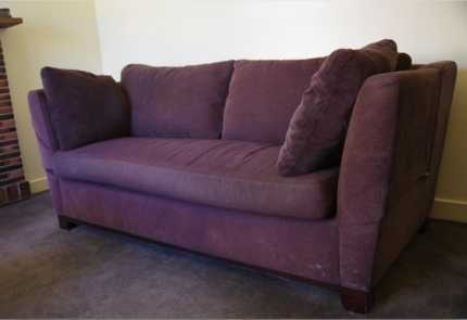 Comfortable and well loved  Moran sofa