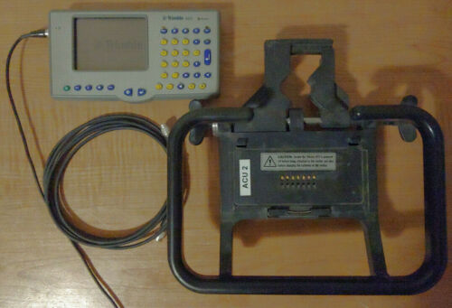 Trimble ACU w/ Holder, Power Cable Good Condition