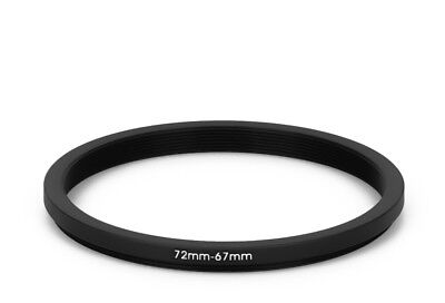 72 mm - 67 mm Filter Adapter Step-Down Adapter Filteradapter Step Down 72-67 67mm Adapter