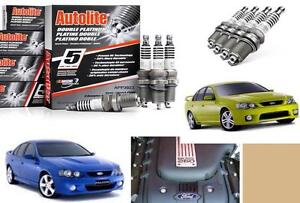 Set 8x double platinum Spark Plugs APP103 plug BA XR8 260 kW Boss V8 F250 RN