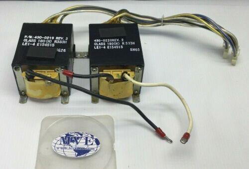 APC 430-0219 430-0220 CLASS 180(H) LEI-4 R333H E154515 DLA3000RM2U TRANSFORMER