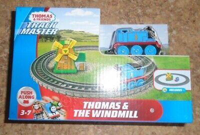 THOMAS & FRIENDS TRACK MASTER THOMAS & THE WINDMILL & TRACK PUSH ALONG PLAY SET