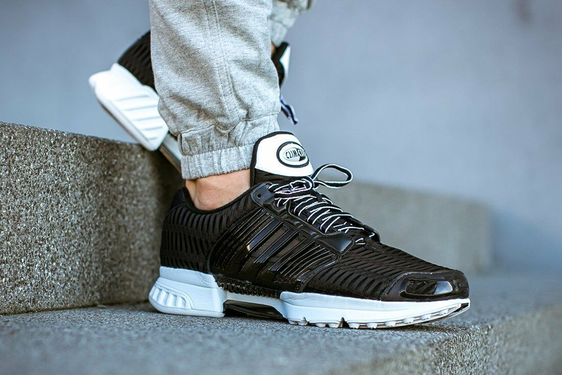 349d1282 Mens Adidas Climacool 1 Clima Cool Running Sneakers New, Black / White  bb0670 фото