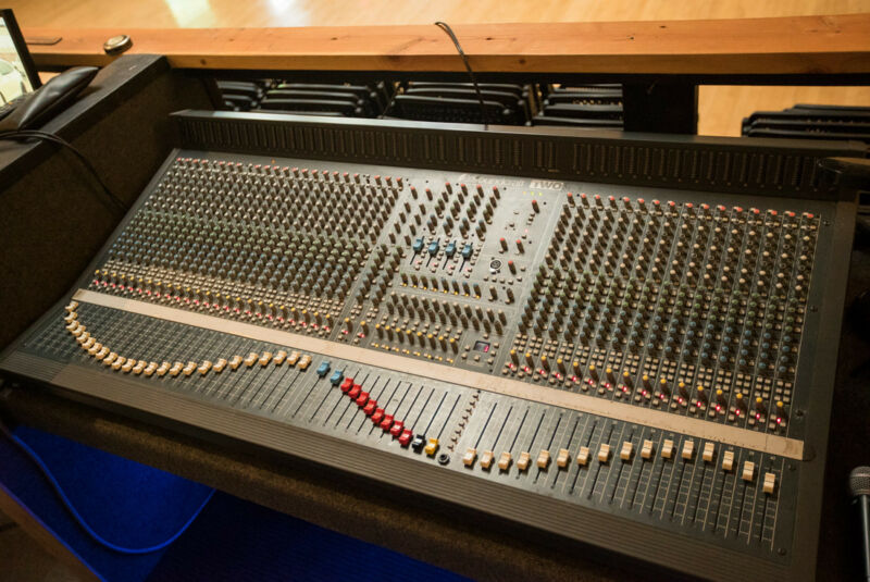 Soundcraft 40 channel Series two mixer and road case