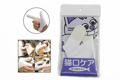 Finger Toothbrush for Cats - Feline Dental Gloves