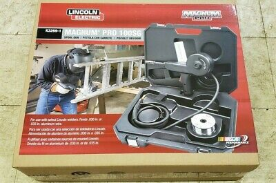Lincoln Electric Magnum Pro 100sg Aluminum Welding Spool Gun K3269-1 Free Ship