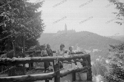negativ-schönecken-1930 er -Eifelkreis Bitburg-Prüm-Cute Teen-Boys-shorts-2 ()