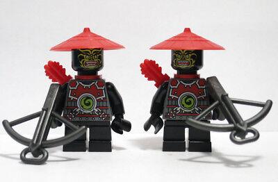 2)Scout Stone Army Ninjago Demon Lot 70500 70505 70503 Lego Minifigure Figure
