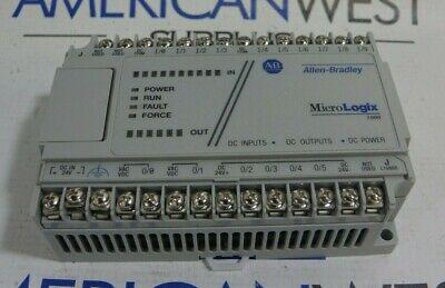 Allen Bradley Micrologix 1000 1761-l16bbb Series E Fw 1.0 Controller