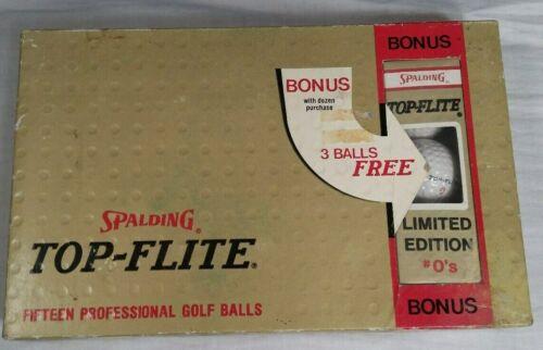 Vintage Spalding Top-Flite Golf Balls Bonus Pack with LIMITED EDITION 0