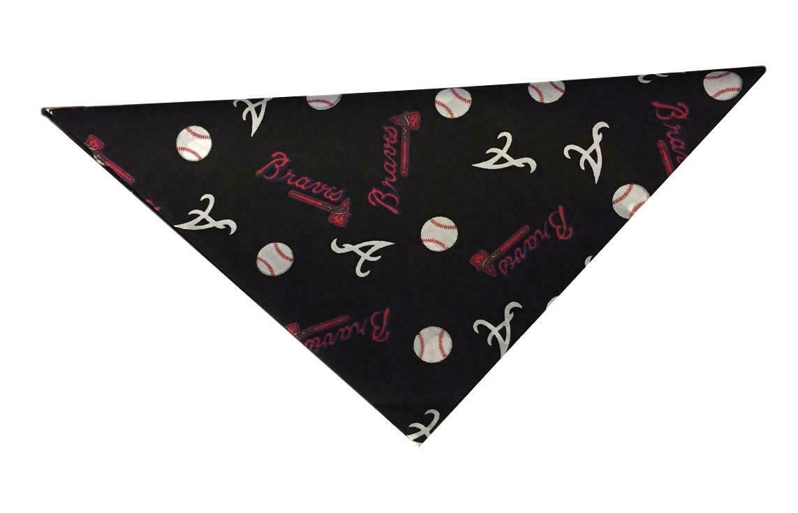 Atlanta Braves Bandana MLB Baseball 100% Cotton Great for Pe