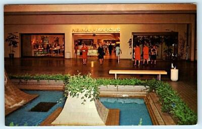 DALLAS, Texas NEIMAN MARCUS at North Park Shopping Center Mall c1960s (North Center Mall Dallas)