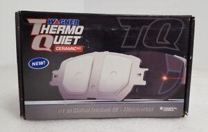 Disc Brake Pad Set-ThermoQuiet Disc Brake Pad Front Wagner QC921