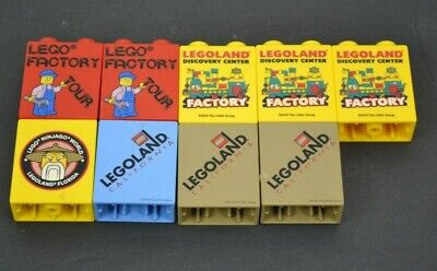 Lego Duplo 2x1 Legoland Brick Block Commemorative Promo Ninjago Factory Knights segunda mano  Embacar hacia Argentina