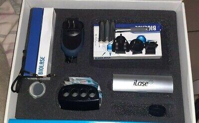 Biolase Ilase Diode Dental Laser Wcase 75 E4-4 Ez Tips 3 Batteries And More