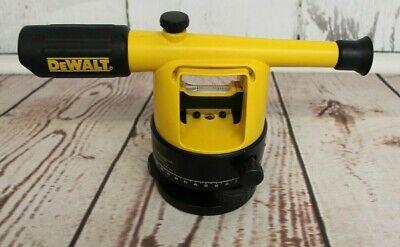 Dewalt Dw090 Manual Builders Level With Plumb Bob In Case.