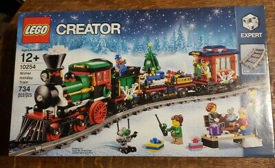 LEGO Creator Winter Holiday Train 10254 New Factory Sealed ~ Christmas
