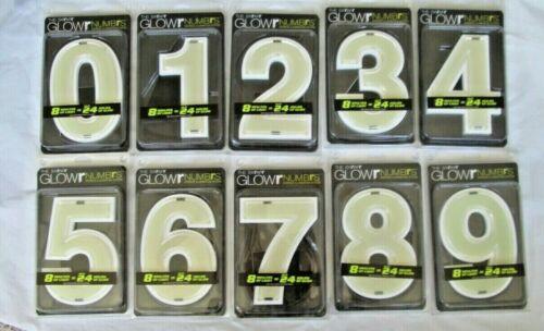 Glowr Numbrs Glower Glow-In-The-Dark House Address Numbers