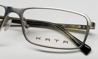 TITANIUM KATA EYEGLASSES Eyewear Frames Japan  K 205 SILVER REVERSE 5  HARD CASE
