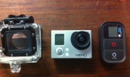 Gopro 3 Silver edition with remote