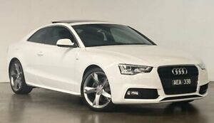 2015 Audi A5 8T MY15 Multitronic White 8 Speed Constant Variable Coupe South Melbourne Port Phillip Preview