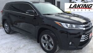 "2017 Toyota Highlander Limited AWD """"LOADED"""" LOW LOW KILOMETERS"