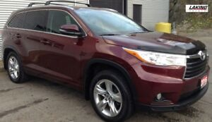 "2016 Toyota Highlander Limited AWD """"LOADED with LUXURY"""" Clean"