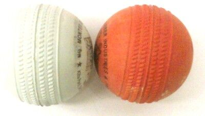 6 Indian Rubber Cricket Balls : with Seam (See Image) : Indian Stumper Ball
