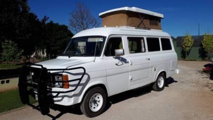 1980 Ford Transit Kombi Poptop Campervan Gawler Gawler Area Preview
