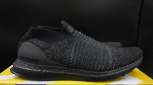 Laceless Triple Black Ultraboost in Size 8