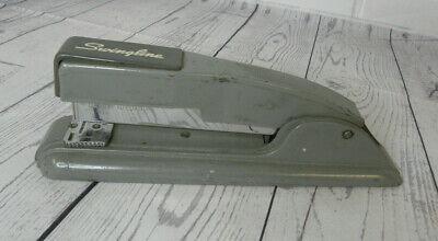 Vintage 4 Swingline Manual Stapler Gray Heavy