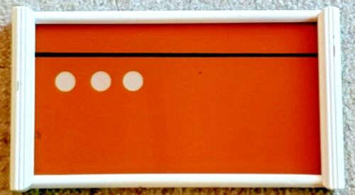 #38  ART DECO DESIGNED REVERSE PAINTED SERVING TRAY cocktail bar ware Bauhaus
