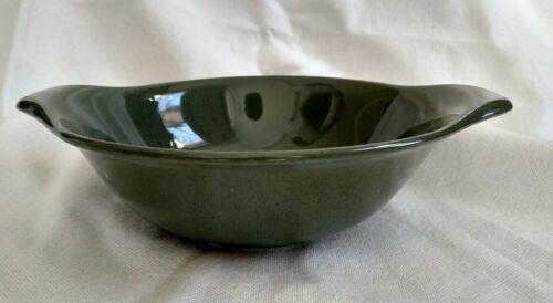 Vintage Russel Wright Steubenville American Modern Cedar Green Lug Bowl
