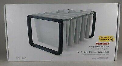 Pendaflex Hanging File Folder Frame 12-12wx16dx9-34h Black 44116