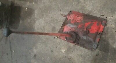 Massey Harris 44 Diesel Tractor Original Mh Transmission Top Gear Shifter Tower
