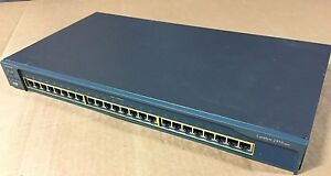 Cisco 2950-24 (WS-C2950-24 Catalyst 2950-24) For CCNA CCNP CCIE Lab