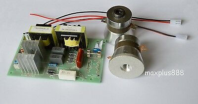 1pc Power Driver Board 110vac 2pcs 50w 40khz Ultrasonic Transducer Cleaner