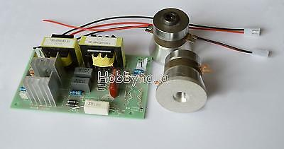 New 1pcs Ac110v Power Driver Board 2pc 50w 40khz Ultrasonic Transducer Cleaner